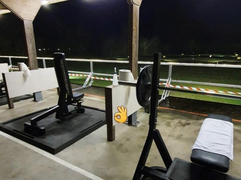 Fitness with a view (open lucht gym) Hoenderdaal Driebergen