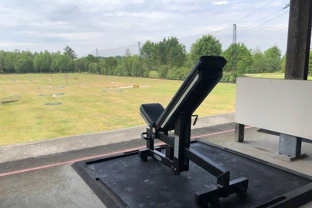Fitness with a view (open lucht gym)