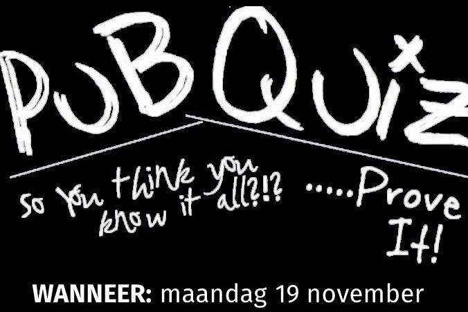 Hoenderdaal presenteert: de PubQuiz part 2!