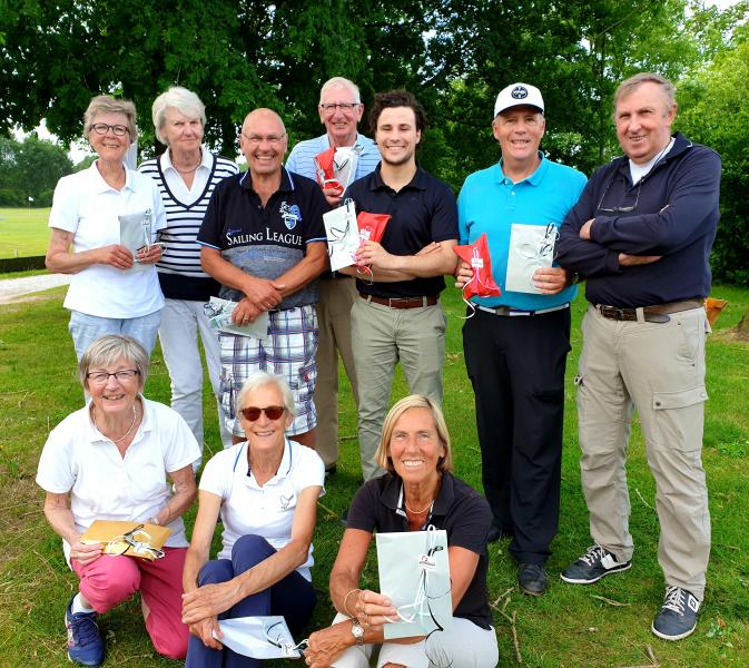 Wally en Ad van de Griendt winnen de Pinkster Greensome