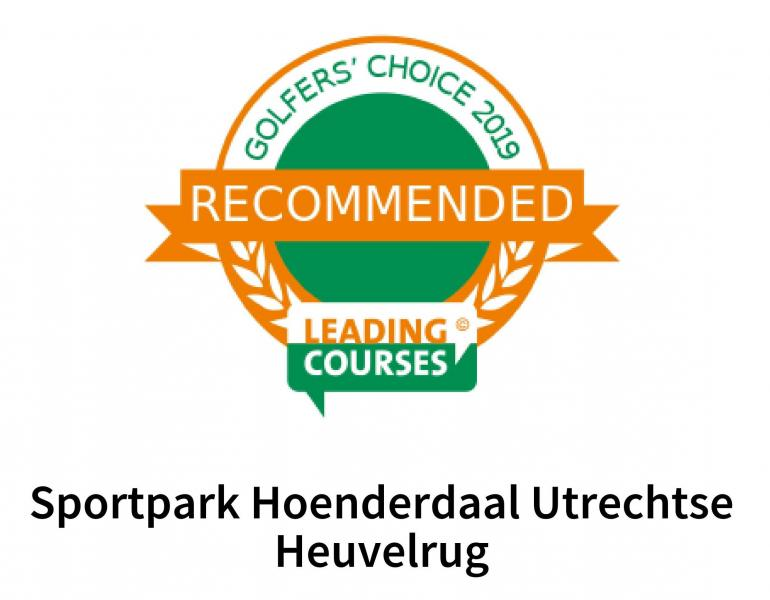 Hoenderdaal: Recommended by Leading Courses!